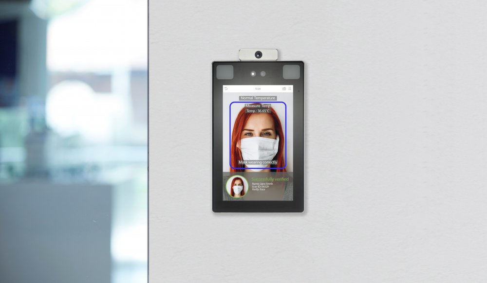 SecIndGroup.com Vanderbilt adds ZKTeco Facial Recognition Terminals with Temperature Detection to portfolio